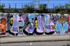 Fin (Alex Ellison) Tags: fin fly flyer pbk southlondon urban graffiti graff boobs