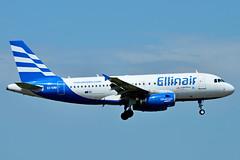 SX-EMB Ellinair Airbus A319-100 (czerwonyr) Tags: sxemb ellinair airbus a319100 fra eddf
