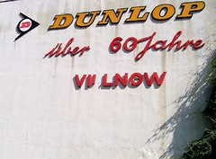 Dunlop - Writing On The Wall (betablogga) Tags: strasse picasa cologne kln dunlop writingonthewall kempener iusedpicasa