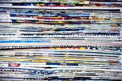 In Letters Buffet Released Publicly (Thomas Hawk) Tags: hospital out was newspaper 10 newspapers fav20 stack used study papers edge fav30 fav10 fav25 superfave