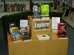Explore collection Lake Stevens Library (kiltedlibrarian) Tags: marketing display books explore mccluskey august2006 bookdisplay liblibs snoisle snoislelibraries lakestevens explorecollection sil20for20
