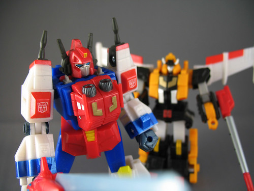 (Robot Masters) Star Saber and Victory Leo