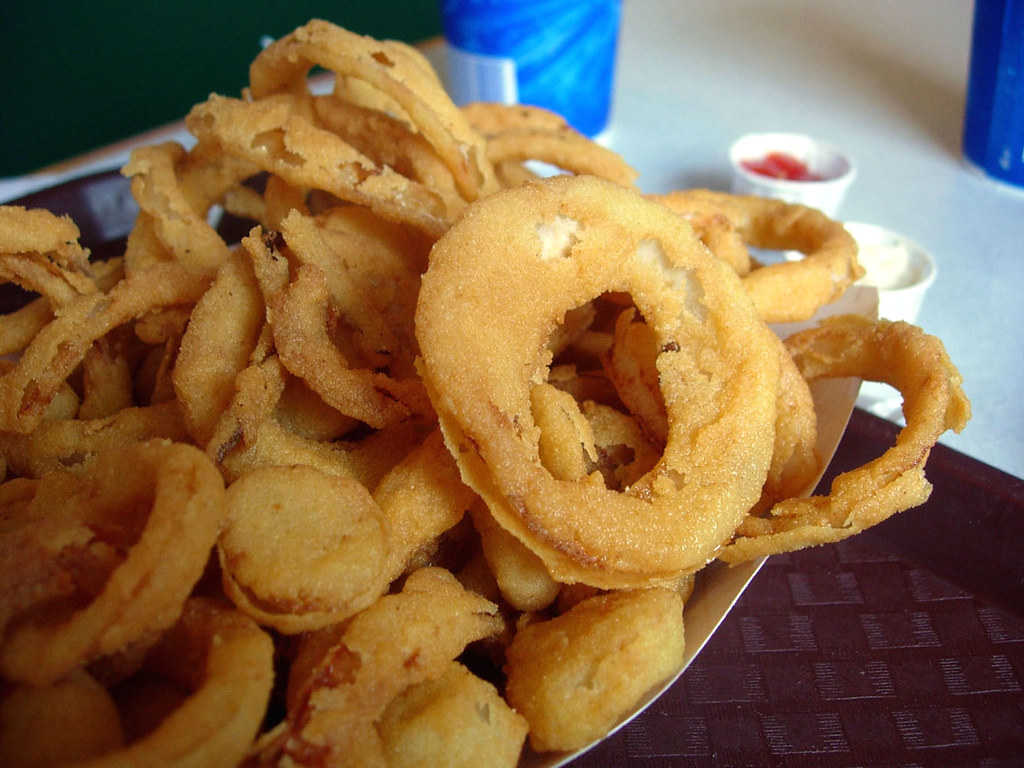 Sweet Onion Rings @ The Sea Basket