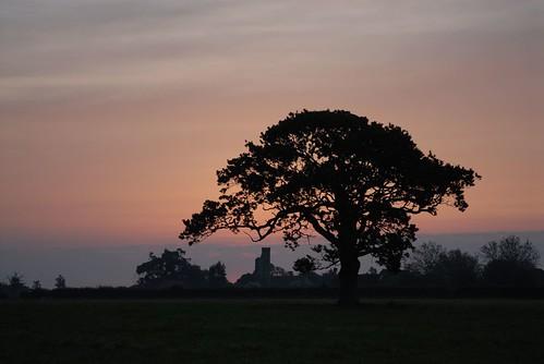 Warblington Castle - sunrise