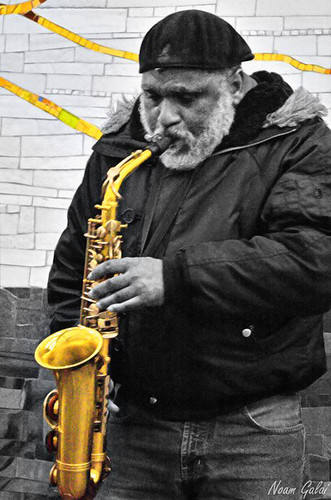 The Old Man and the Gold Saxophone
