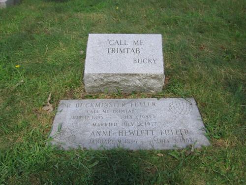 Bucky's gravestone