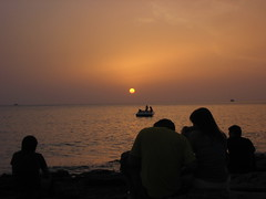 Sunset at Cafe del Mar (Florian Demmer) Tags: sunset summer spain 2006 ibiza day5 cafedelmar