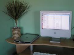 Canon Canoscan LiDE 60 on my Desk next to iMac (James UK) Tags: apple macintosh hardware imac desk scanner room cannon lide60