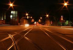 Shine on little stars (arnd Dewald) Tags: auto street longexposure light motion car night lights licht movement nacht tracks symmetry fv10 strase asymmetry bochum ruhrgebiet gettyimages lichter langzeitbelichtung schienen ruhrpott symmetrie leuchten asymmetrya arndalarm alleestrase asmmetrie