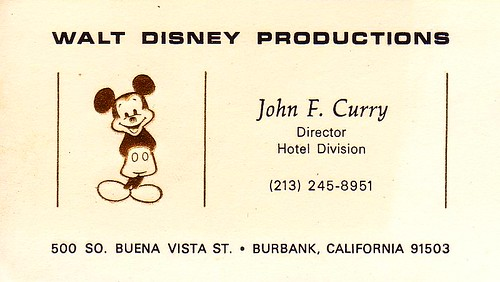 Flickriver photoset walt disney world sept 1971 beyond by ufg8r wdw business card colourmoves