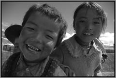 (gaetans) Tags: bw children child bambini tibet concorsobianconero concorsobianconerogaetans bnvitadistrada bnpersone