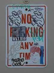 Graffiti: ribity (Franco Folini) Tags: sanfrancisco california usa streetart art sign photography graffiti us photo foto sony noparking wallart frog urbanart creativecommons fotografia cartello parcheggio ribity froggie divieto immagine dscf707 francofolini folini creativecommonsattributionsharealike