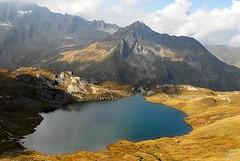 Fall splendor in the Alps (celestialpilgrim) Tags: mountains alps switzerland valais valferret grandstbernard valdentremont natureplus pointededrone lacsdefentres untravailleurvaudoisftelejenegenevoisenvalais