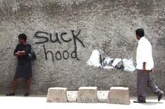 Suck hood