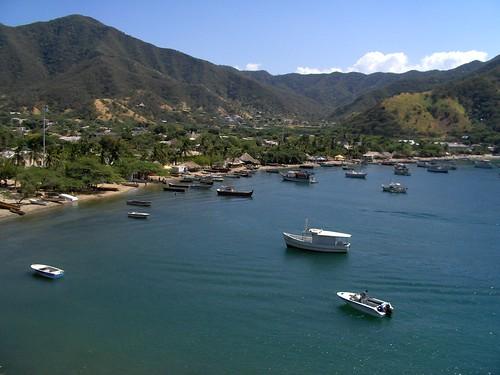 Puerto - Taganga, Santa Martha, COLOMBIA por WMO.