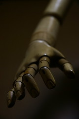 wood  mannequin (kazushi hirota) Tags: wood 20d mannequin canon eos hand