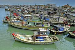 Phan Thiet Boats (jay_kilifi) Tags: water boats fishing vietnam phanthiet graduatedneutraldensity