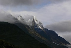 Toblerone oder was?! (_Carmen_) Tags: sky mountain berg clouds nationalpark top skandinavien norwegen himmel wolken berge gipfel reiseblog