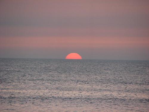 Sunset in Fecamp