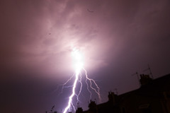Lightening from my back garden
