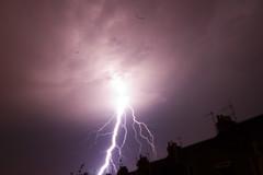 Lightening from my back garden
