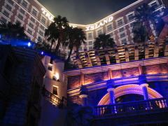 Provocative Sirens of TI Show, Treasure Island Hotel and Casino, Las Vegas Strip, Las Vegas, Nevada