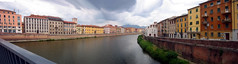 The Arno, Pisa, Italy (Jamila BC) Tags: