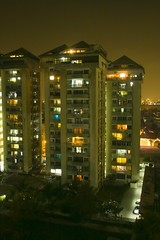 Long Night (Edge of Space) Tags: pakistan urban architecture modern living cityscape lifestyle karachi clifton corrs appartments longnight pakscape reminiscentofwinternights fogfilled