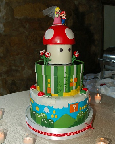 Super Mario Wedding Cake!