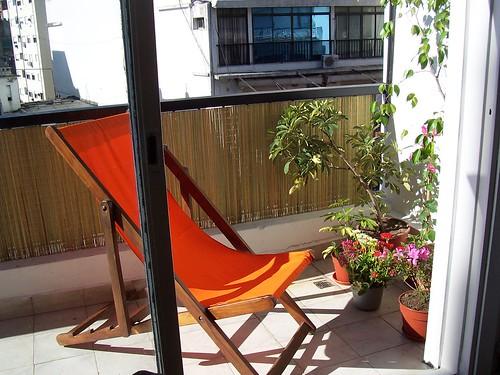 Balcón de descanso