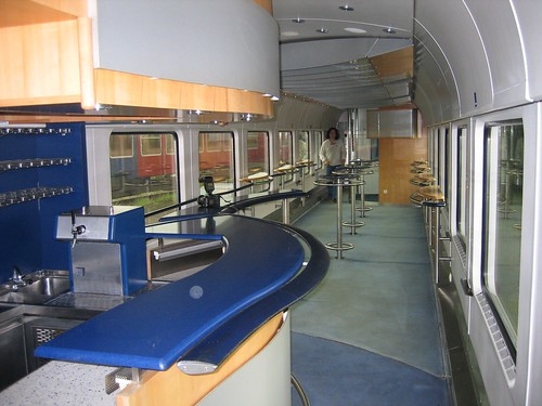 Train Chartering - Deutsche Bahn Bord Bistro buffet car used for charter trains (Germany)