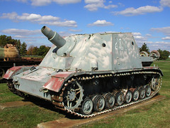 BI764 Sturmhaubitze 43 SdKfz 166 (listentoreason) Tags: history museum geotagged technology unitedstates military maryland places worldwarii armor artillery groundforces
