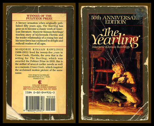 The Yearling - Marjorie Kinnan Rawlings