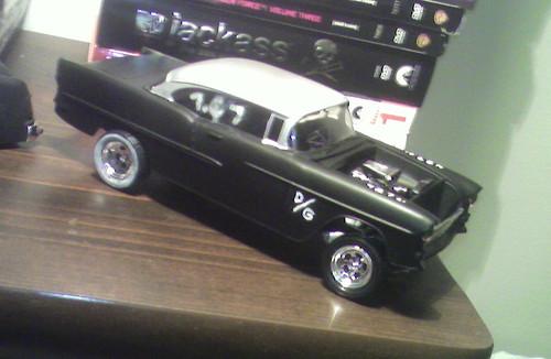 Gasser Plastic Models '55 Chevy Gasser Model · '