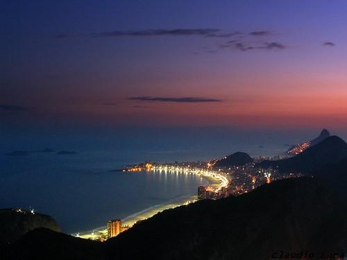Praia de Copacabana - Copacabana beach - Rio de Janeiro - Brasil