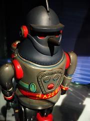 The Burning Eyes Of Tetsujin (Dalmatica) Tags: toys robot robots collectibles gigantor throughtheglass nomura tetsujin msichicago dalmatica robotexhibit marianatomas robotoxica