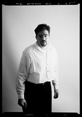 me (bellyface) Tags: bw selfportrait film me portraits mediumformat 645 ivan scala agfa 6x45 75mm pentax645n