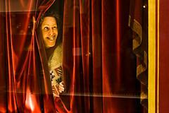Peek-a-boo (mrcury) Tags: portrait paris passages parissummer2006
