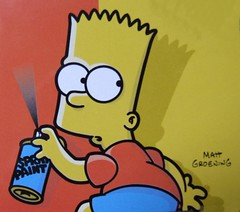 Graffiti Bart (K's Photo's) Tags: streetart art graffiti bart simpsons urbanart mattgroening irishgraffiti irelandgraffiti corkgraffiti kieranhynesphoto irishstencil