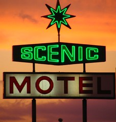 Scenic Motel sign - Pigeon Forge, TN (SeeMidTN.com (aka Brent)) Tags: sign neon tennessee scenic motel pigeonforge straight hotelmotel us321 us441 brentandmarilynnpersonalfavorite bmok tn73 tn71 bmokneon bmokmotel