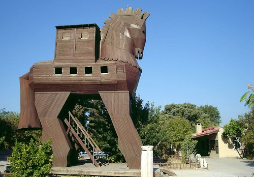 Travelogue Of An Armchair Traveller The Trojan Horse Of