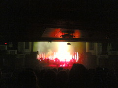 Massive Attack, Boston Orpheum, Sunday 9:14 pm 10/1/06