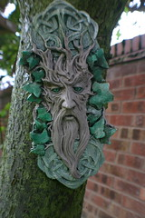 Green Man Garden Ornament - by Sinjy and Sadie