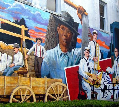 history of lukin mural
