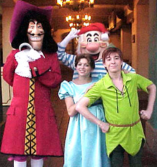 Peter Pan Crew (disneyphilip) Tags: peterpan characters waltdisneyworld wendy magickingdom adventureland captainhook mrsmee