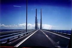 Oresund Bridge (Erik Lykins) Tags: travel skne sweden bridges sverige oresundbridge