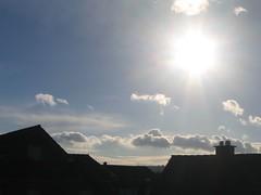 a beautiful morning sun