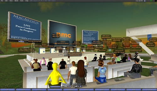 learning event in second life