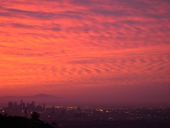 Sunset from a friends house (michaeltucker) Tags: sunset losangeles downtownla sunsetplaza ~mt~