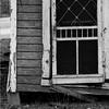 back door (maclogue) Tags: blackandwhite steel urbandecay sloss utatathursdaywalk28 companyhouses
